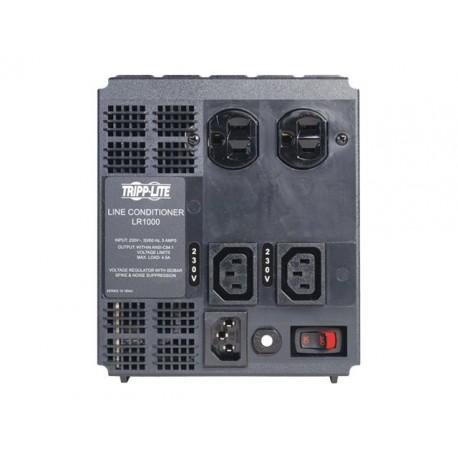 Tripp Lite 1000W Line Conditioner w/ AVR / Surge Protection 230V 4A 50/60Hz C13 2x5-15R Power Conditioner - Acondicionador de lí