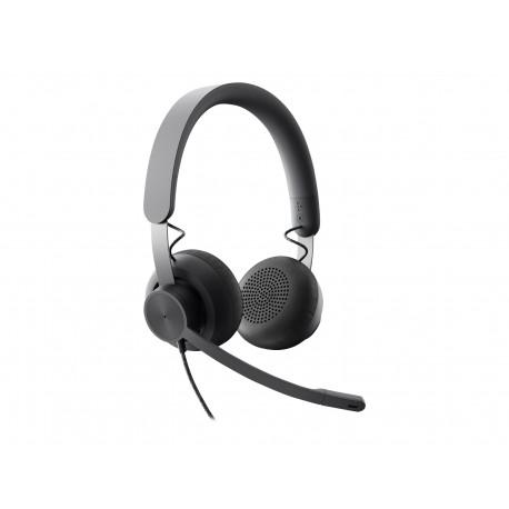 Logitech Zone Wired - Auricular - en oreja