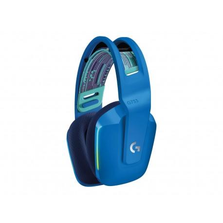 Logitech G733 LIGHTSPEED Wireless RGB Gaming Headset - Auricular - 7.1 canales