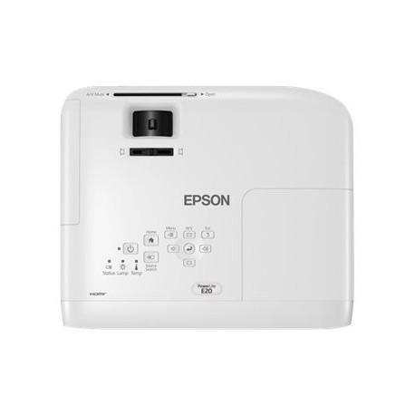 Epson PowerLite E20 - Proyector 3LCD - portátil