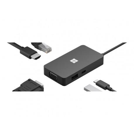 Microsoft USB-C Travel Hub - Estación de conexión - USB-C