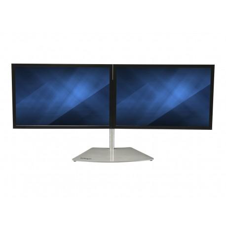 StarTech.com Base Soporte VESA para 2 Monitores - Horizontal - para Monitores de hasta 24 Pulgadas