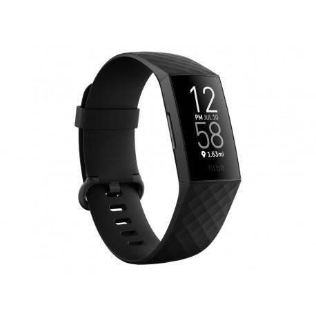 Fitbit Charge 4 - Negro - rastreador de actividad con banda