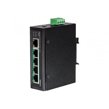 TRENDnet TI-PE50 - Conmutador - sin gestionar