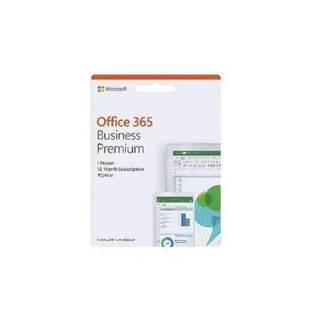 Microsoft Office 365 Business Premium - License - Activation card