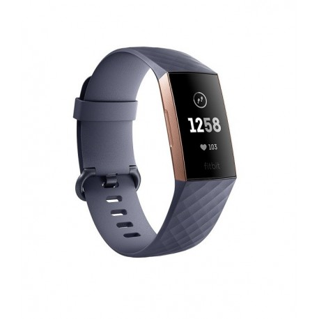 Fitbit Charge 3 - Activity tracker - Gray / Rose gold