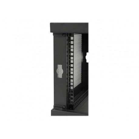 Tripp Lite 6U Wall Mount Rack Enclosure Cabinet Knock Down w/Doors & Sides - Rack - armario