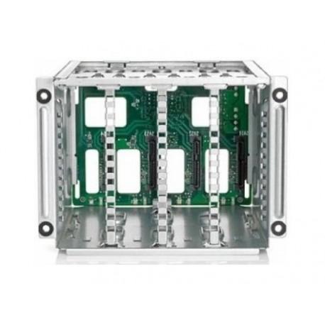 "HPE Box1/2 Cage/Backplane Kit - Caja de unidades para almacenamiento - 2.5"""