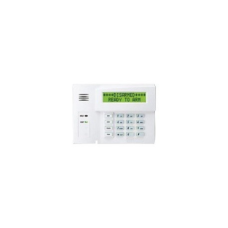 Honeywell ADEMCO 6160 Deluxe Alpha Display Keypad - Panel de control - inalámbrico