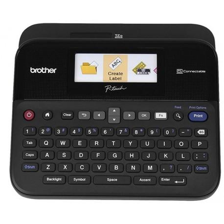 Brother PTD-600VP - Label printer - Monochrome
