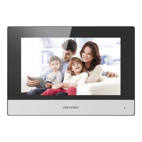 Hikvision DS-KH6320-WTE1 - Sistema de intercomunicación de vídeo - inalámbrico, cableado