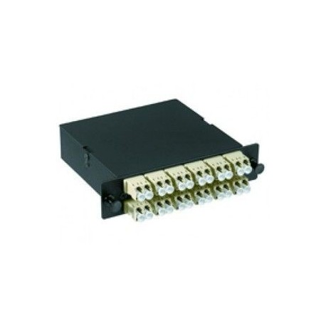 Furukawa - Blank panel with coupler - Fibre Channel cable