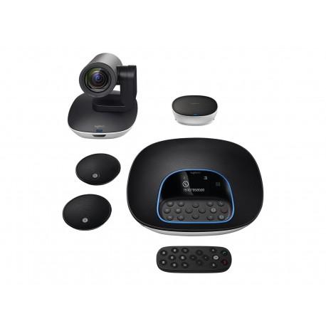 Logitech GROUP - Kit de videoconferencia - con Logitech Expansion Microphones