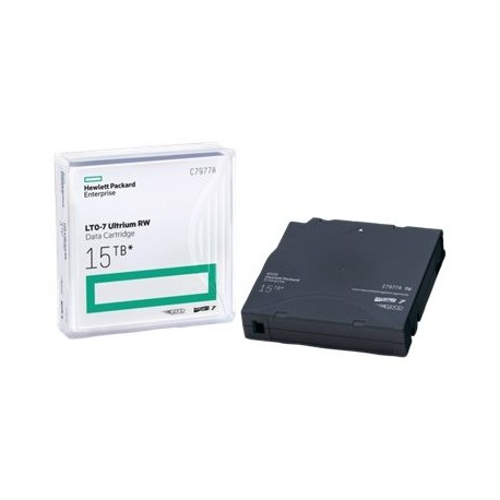 HPE Ultrium RW Data Cartridge - LTO Ultrium 7 - 6 TB / 15 TB