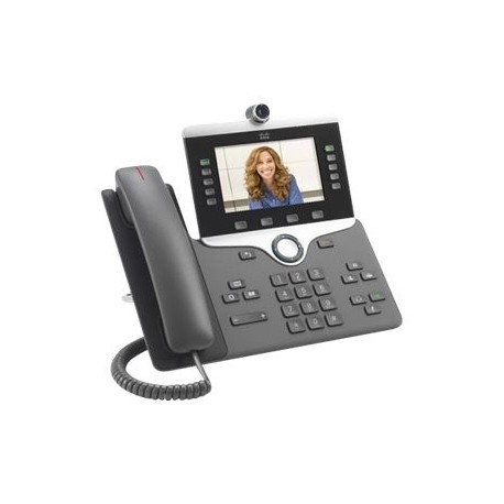 Cisco IP Phone 8845 - Vídeoteléfono IP - con cámara digital, interfaz de Bluetooth