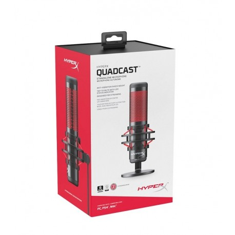 HyperX - Microphone - Computer / Game console / Professional audio