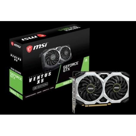 MSI - GeForce GTX 1660 Ti VENTUS XS 6G OC - PCI Express 3.0 x16