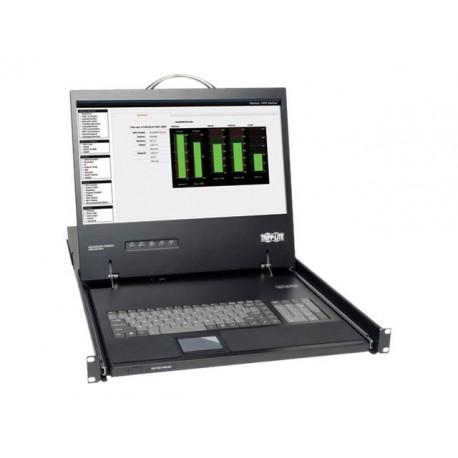 "Tripp Lite Rack Console KVM Cable Kit w/ 19"" LCD 1U PS/2 TAA GSA - Consola KVM - PS/2"