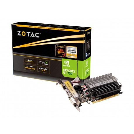 ZOTAC GeForce GT 730 - Tarjeta gráfica - GF GT 730