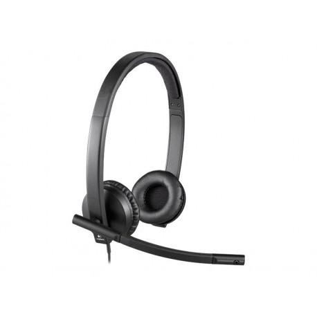 Logitech USB Headset H570e - Auricular - en oreja