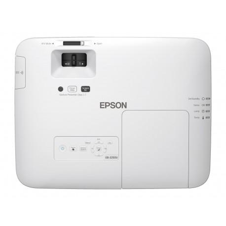 Epson PowerLite 2250U - Proyector 3LCD - 5000 lúmenes (blanco)