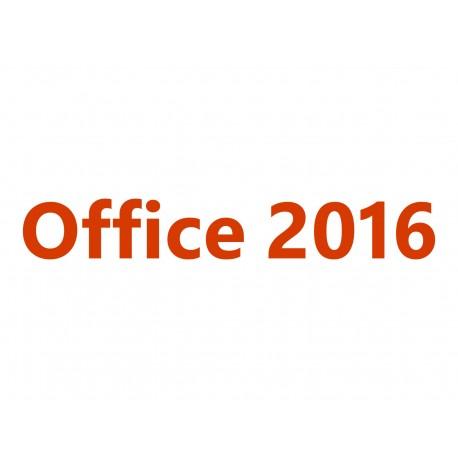 Microsoft Office Hogar y Empresas 2016 para Mac - Caja de embalaje - 1 Mac